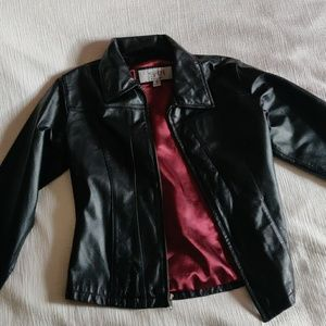 Woman's leather jacket